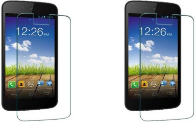 YuniKase Tempered Glass Guard for Micromax Canvas Android A1 ( Pack Of 2 )(Pack of 2)