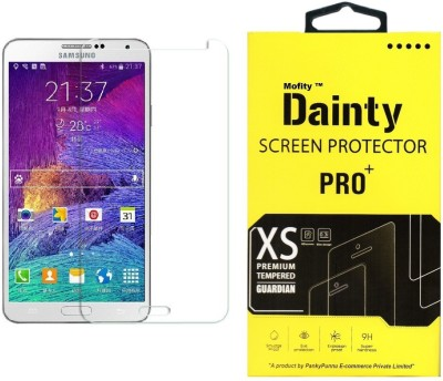 Dainty Tempered Glass Guard for Samsung Galaxy Note 4 (5.7 inch)