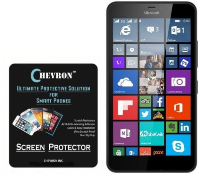 Chevron Tempered Glass Guard for Microsoft Lumia 640 XL(Pack of 1)