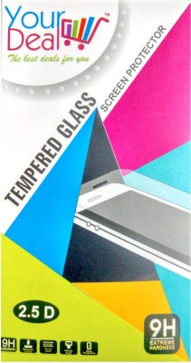 YourDeal Tempered Glass Guard for Motorola Moto E 2nd Gen