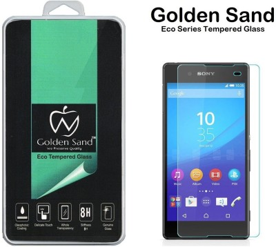 Golden Sand Tempered Glass Guard for Sony Xperia Z4(Pack of 1)