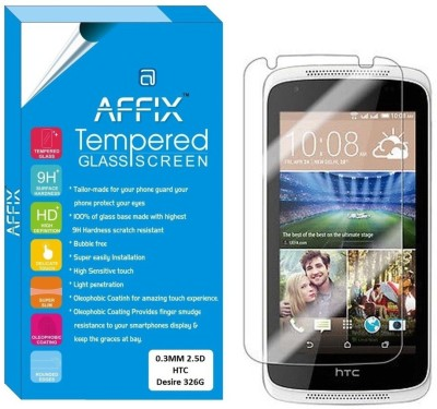 "Affix Tempered Glass Guard for HTC Desire 728G (5.5"" Inch Display)"