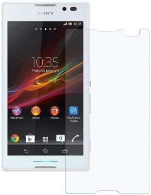 YuniKase Tempered Glass Guard for Sony Xperia E4 ( Super saver Pack of 3 )