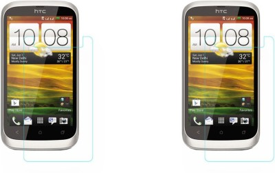 ACM Tempered Glass Guard for Htc Desire V, (Pack of 2)(Pack of 2)