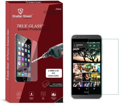 Dvook Tempered Glass Guard for HTC Desire 620G(Pack of 2)