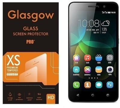 Glasgow Tempered Glass Guard for Honor 4C(Pack of 1)