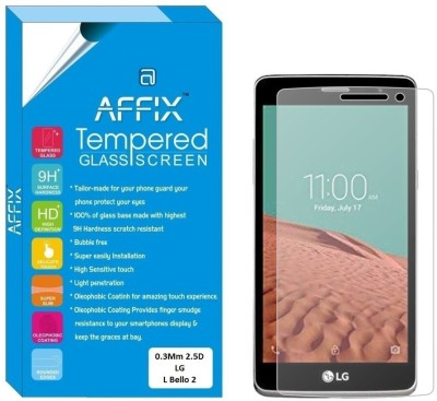 "Affix Tempered Glass Guard for LG L Bello 2 (5.0"" Inch Display)(Pack of 1)"