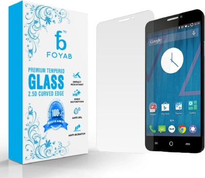 Foyab Tempered Glass Guard for Micromax Yureka A05510  available at flipkart for Rs.284