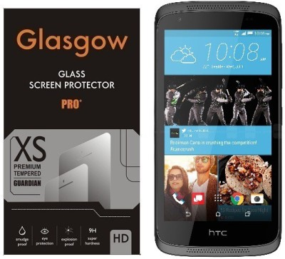 Glasgow Tempered Glass Guard for HTC Desire 526G Plus(Pack of 1)