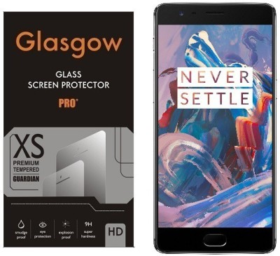 Glasgow Tempered Glass Guard for OnePlus 3