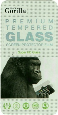 BLACK GORILLA Tempered Glass Guard for Intex Aqua Star 2 Hd