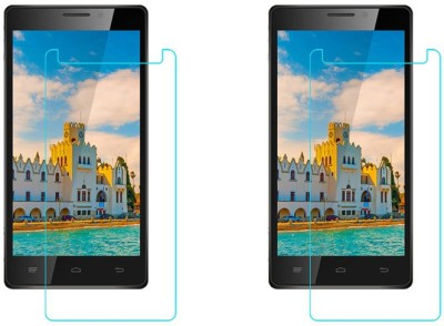 ACM Tempered Glass Guard for Intex Aqua Power Hd 4g(Pack of 2)