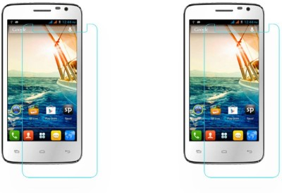 ACM Tempered Glass Guard for (Pack of 2), Micromax Canvas Juice A177(Pack of 2)