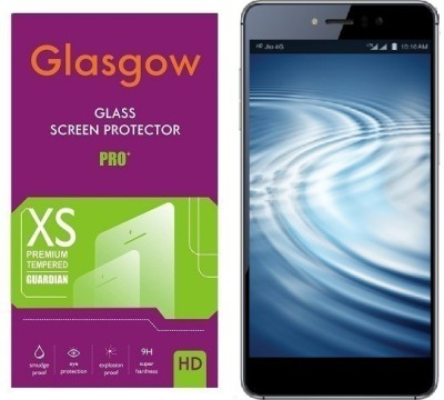 Glasgow Tempered Glass Guard for Reliance Lyf Water 8 Pack of 1 Glasgow Screen Guards