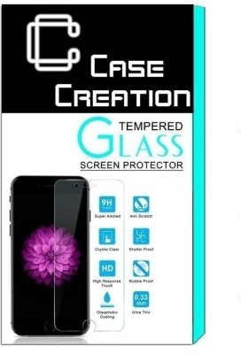 Case Creation Tempered Glass Guard for Intex Aqua Power +(Pack of 1)