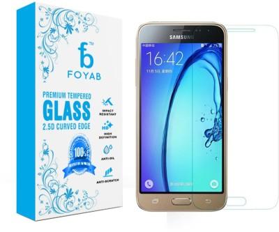 Foyab Tempered Glass Guard for Samsung Galaxy J3