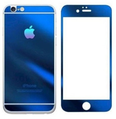 ROBMOB Tempered Glass Guard for Apple iPhone 4/4s Blue Color (Front & Back)