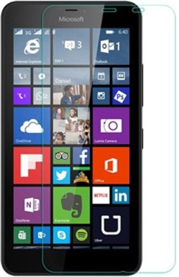 Chevron Tempered Glass Guard for Microsoft Lumia 640 XL(Pack of 3)