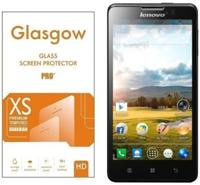 Glasgow Tempered Glass Guard for Lenovo P780(Pack of 1)