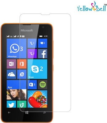Yellow Bell Tempered Glass Guard for Nokia Lumia 430