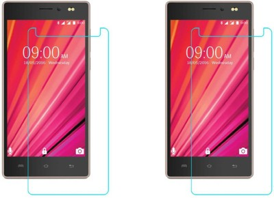 ACM Tempered Glass Guard for Lava X17 4g(Pack of 2)