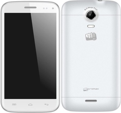 MOB Tempered Glass Guard for Micromax Canvas Turbo Mini A200(Pack of 1)