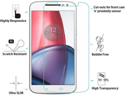 Unistuff Tempered Glass Guard for Motorola Moto G (4th Generation)(Pack of 1)