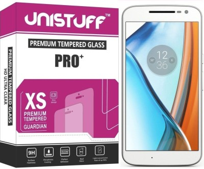 Unistuff Tempered Glass Guard for Motorola Moto G 4th. Generation(Pack of 1)