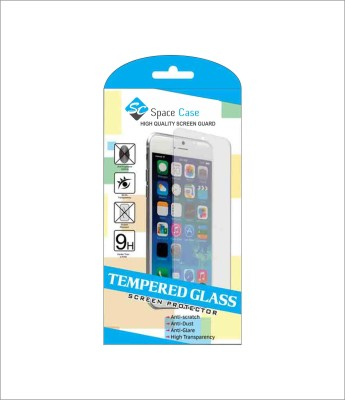 Space Case Tempered Glass Guard for LENOVO A6000 PLUS(Pack of 1)