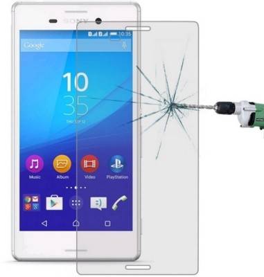 AMETHYST Tempered Glass Guard for Sony Xperia M4 Aqua(Pack of 1)