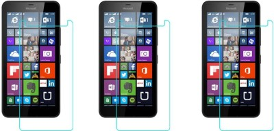 ACM Tempered Glass Guard for Microsoft Lumia 640 Xl Lte Dual Sim(Pack of 3)