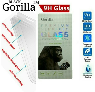 BLACK GORILLA Tempered Glass Guard for MICROMAX A116(Pack of 1)
