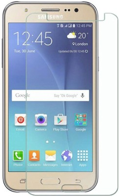 Fortune Mart Tempered Glass Guard for Samsung Galaxy J1