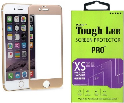 Tough Lee Tempered Glass Guard for Apple Iphone 6s Plus (5.5 inch, Gold)(Pack of 1)