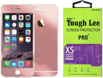 Dainty Tempered Glass Guard for Apple Iphone 6s Plus (5.5 inch, White) (Full Glass)