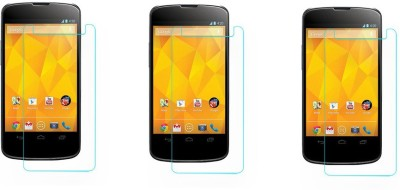 ACM Tempered Glass Guard for Lg Google Nexus 4 E960(Pack of 3)