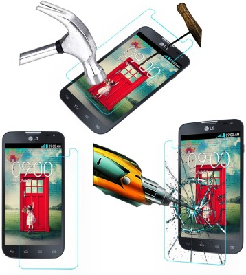 Mobilecops Tempered Glass Guard for LG L90 Dual D 410