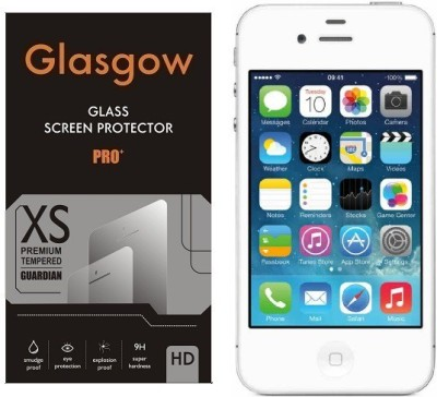 Glasgow Tempered Glass Guard for Apple iPhone 4s(Pack of 1)