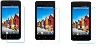 ACM Tempered Glass Guard for Micromax Canvas Fun A76(Pack of 3)