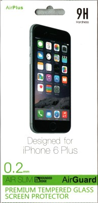 Airplus Tempered Glass Guard for Apple iPhone 6 Plus at flipkart