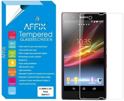"Affix Tempered Glass Guard for Sony Xperia Z (5.0"" Inch Display)"