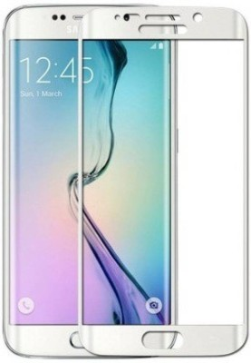 Maxpro Edge To Edge Tempered Glass for 5D Tempered Glass Samsung Galaxy S6 Edge(Pack of 1)