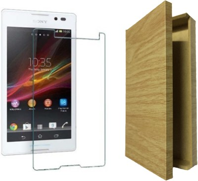 Loopee Tempered Glass Guard for Sony Xperia C C2305