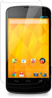 Digicube Tempered Glass Guard for LG Nexus 4(Pack of 1)