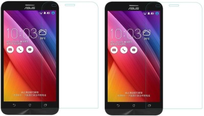 MOBIVIILE Tempered Glass Guard for Asus Zenfone 2 Laser ZE550KL Pack of 2 MOBIVIILE Screen Guards