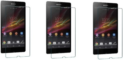 ACM Tempered Glass Guard for Sony Xperia Z L36h (Pack of 3)(Pack of 3)