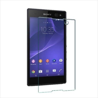 AMETHYST Tempered Glass Guard for Sony Xperia C3 D2533(Pack of 1)