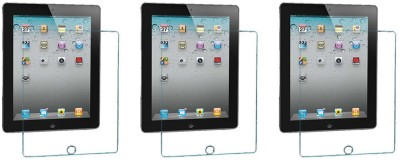 ACM Tempered Glass Guard for Apple iPad 2, Apple iPad 4, (Pack of 3), Apple iPad 3(Pack of 3)