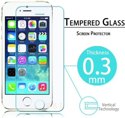 Vsure Tempered Glass Guard for Lenovo A6000, Lenovo A6000 Plus(Pack of 1)