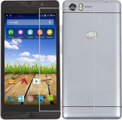 Amethyst Tempered Glass Guard for Micromax Canvas Fire 4g Plus Q412 at flipkart